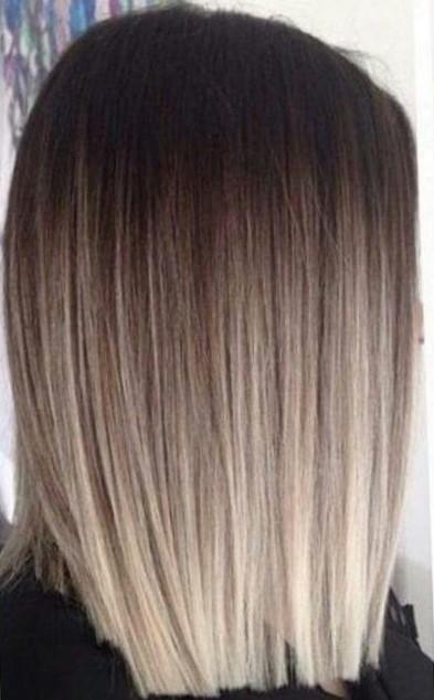 окрас волос омбре фото на короткие волосы