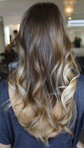 Классическое двутональное окрашивание волос в стиле омбре