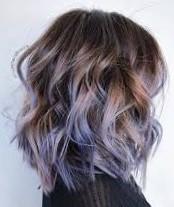Окрашивание омбре на средние волосы
