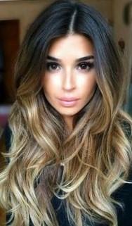 Окрашивание омбре на средние волосы, длинные и короткие - фото