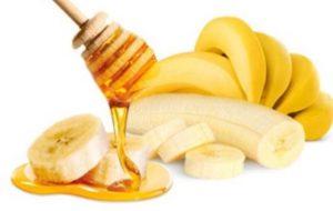маска для сухих волос с медом и бананом
