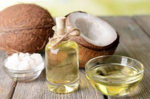 маска для сухих волос с кокосовым маслом