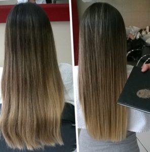 Стрижка горячими ножницами - фото до и после процедуры
