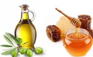 Маска для волос с медом и маслом