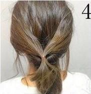 Греческая прическа на средние волосы шаг 4