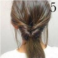 Греческая прическа на средние волосы шаг 5