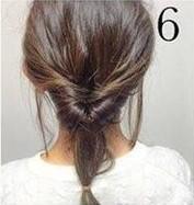 Греческая прическа на средние волосы шаг 6