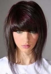 Стрижка аврора на средние волосы