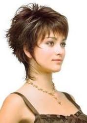 Стрижка аврора на короткие волосы