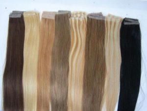 Наращиваемые волосы на лентах