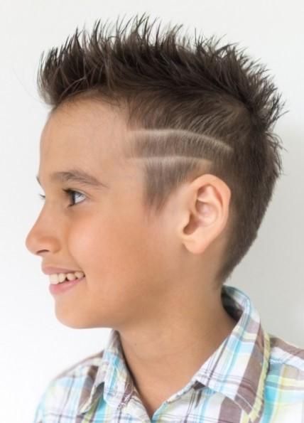 Фото причесок для мальчиков 8 лет