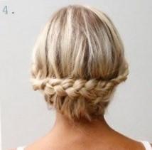 Легкие прически на средние волосы за 5 минут самой себе