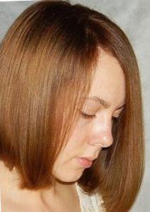 Ламинирование волос дома - фото после