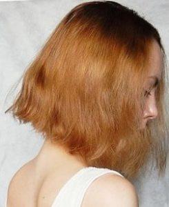 Ламинирование волос дома - фото до