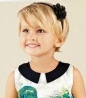 Прически на короткие и тонкие волосы для девочек8