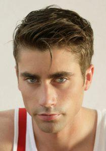 Британка - мужская стрижка на короткие волосы