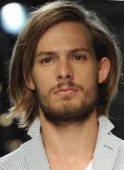 Мужская стрижка на средние волосы каре