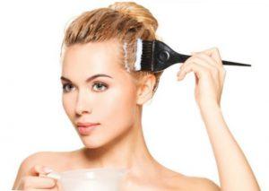 Масляная маска для волос с витамином Е