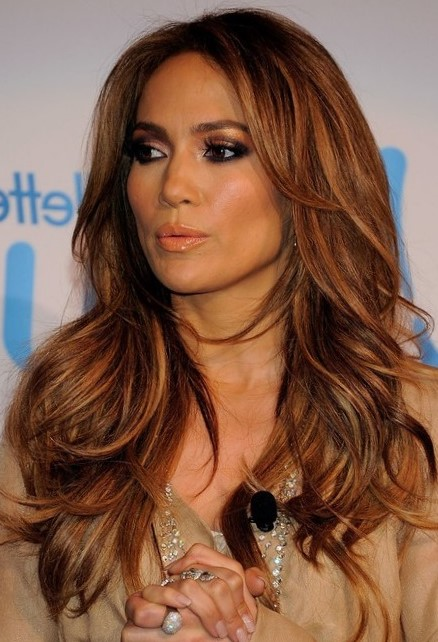jennifer lopez hair styles окрашивание волос 3d д и 7д 2017 фото до и после 2133 | Jennifer Lopez Hairstyles Long Layered Hairstyle