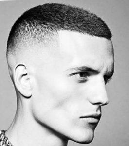 Бокс - мужская стрижка на короткие волосы