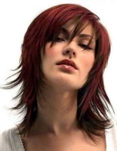Итальянка - стрижка на тонкие волосы придающая объем