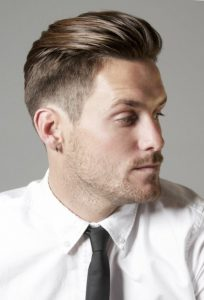 Канадка - мужская стрижка на короткие волосы