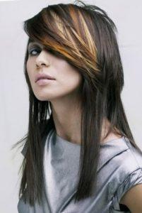Красивая стрижка на длинные волосы аврора
