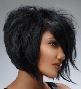 Боб - стрижка на средние волосы придающая объем
