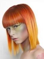 Креативное окрашивание волос омбре