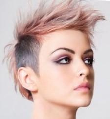 Креативное блочное окрашивание волос