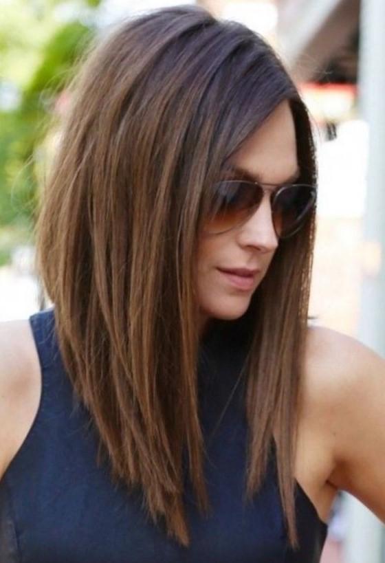 Повседневная причёска из длинных волос 16