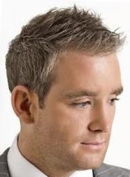 Бобрик - мужская стрижка на короткие волосы