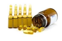 Витамин е в капсулах и ампулах