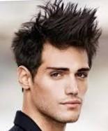 Мужская стрижка на средние волосы гранж