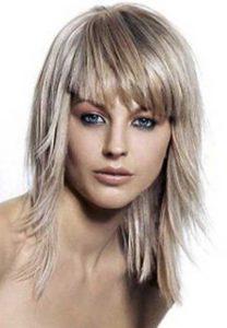 Каскад- стрижка на средние волосы придающая объем