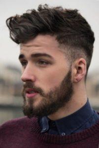 Мужская стрижка на средние волосы