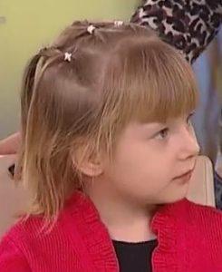 Простые прически для девочек в детский сад