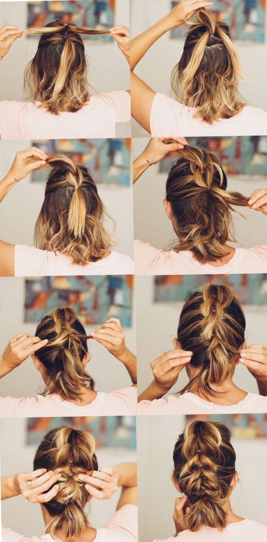 Прически для тонких волос - пошаговое фото