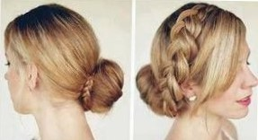 Красивые прически с бубликом на длинные волосы по шагам