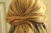 Легкая прическа на короткие волосы
