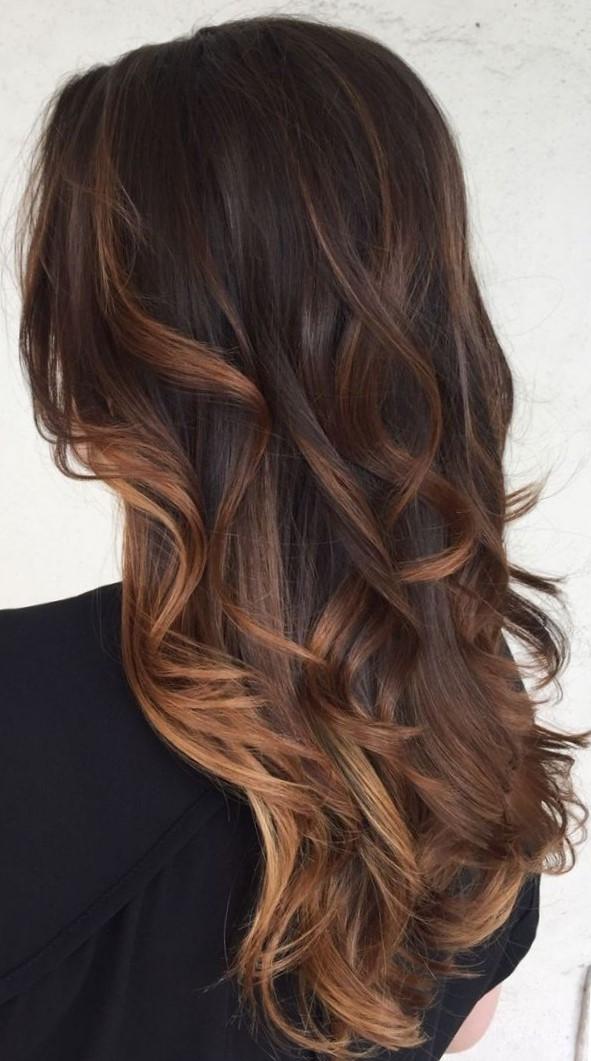 Виды окрашивания волос - балаяж