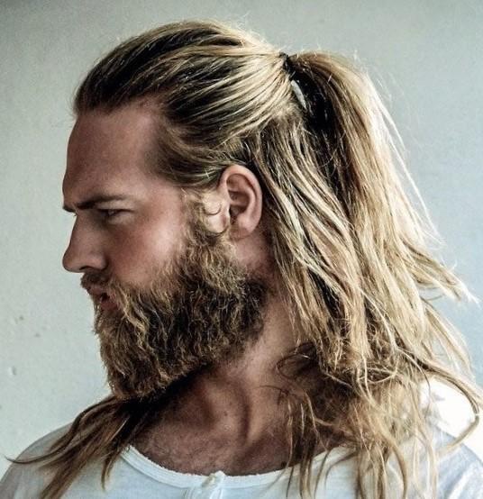 Модные мужские прически + борода