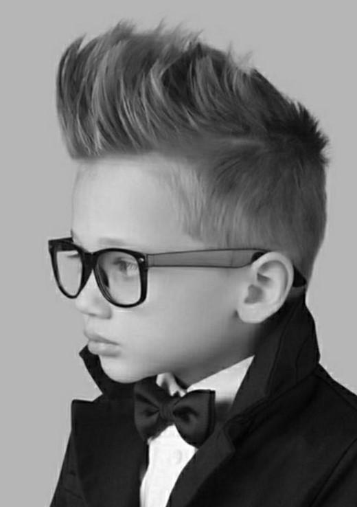 стильные стрижки для мальчиков