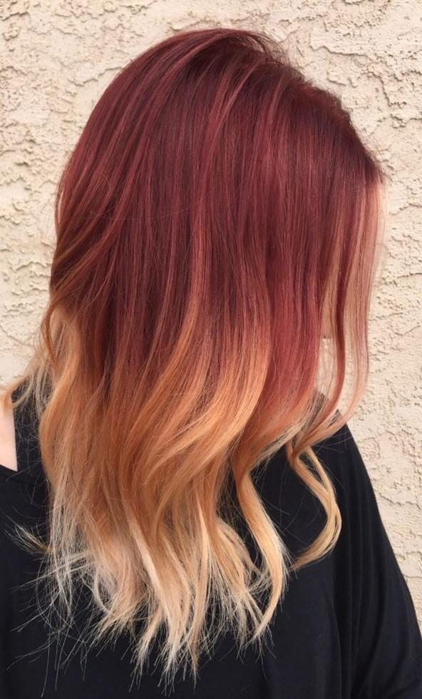 Виды окрашивания волос - омбре