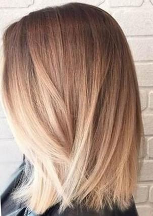 Виды окрашивания волос - шатуш
