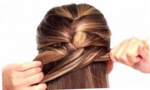 Коса дракончик - схема плетения