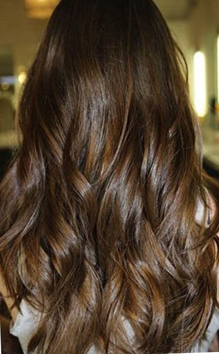 Мраморное окрашивание волос