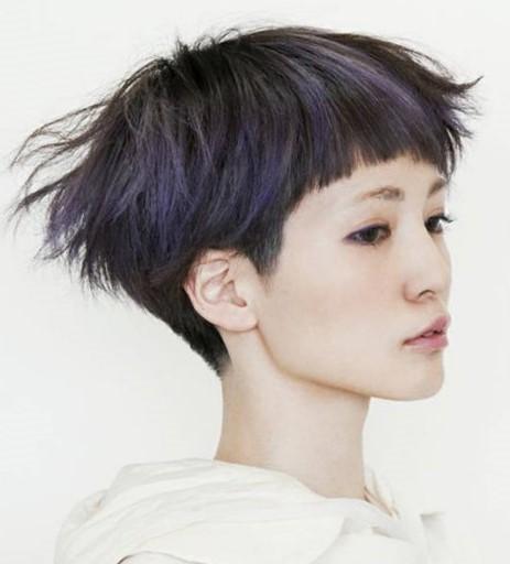 Короткая стрижка на тонкие волосы не требующая укладки