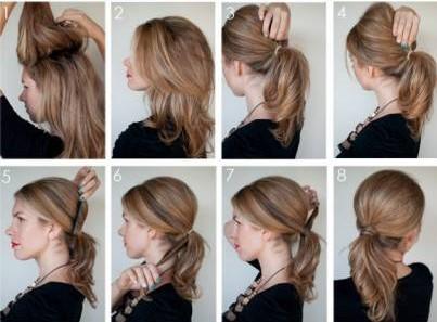 Легкие причёски на каждый день за 5 минут