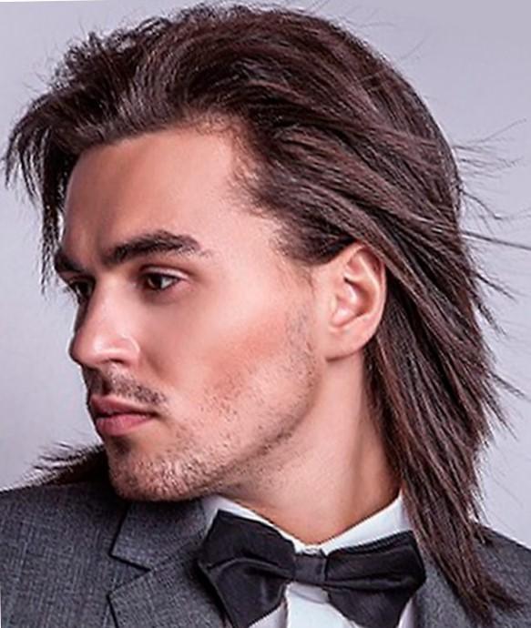 Виды длинных волос у мужчин